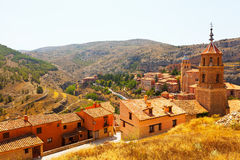 General view of  Albarracin Stock Photography