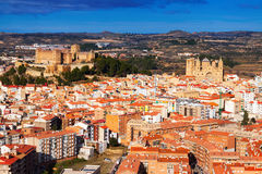 General view of Alcaniz Royalty Free Stock Image