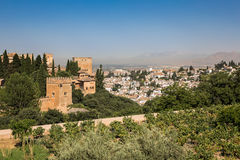 General view of the Alhambra Royalty Free Stock Image