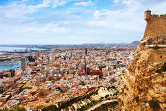 General view of Alicante Royalty Free Stock Photos
