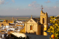 General view of  andalucian town.  Osuna Stock Photo