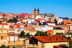 General view of  Astorga Royalty Free Stock Photos