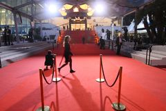 A general view atmosphere  during the 70th Annual Cannes Film Fe. CANNES, FRANCE - MAY 18: A general view atmosphere  during the 70th Annual Cannes Film Festival Stock Images
