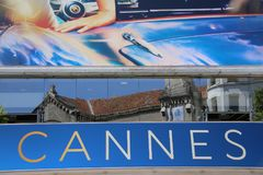 A general view of atmosphere. On during the 71th Annual Cannes Film Festival on May 19, 2018 in Cannes, France Stock Photography