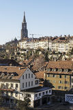 General view of Bern Royalty Free Stock Photo