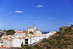 General view of Cadaques in summer Royalty Free Stock Photos