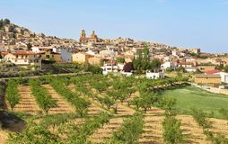 General view of Calaceite, Teruel, Spain. General view of Calaceite beautiful village in Teruel, Spain royalty free stock photos