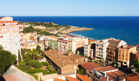 General view of  Catalan city. Tarragona Stock Photos