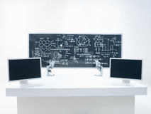 General view of chemistry lab Royalty Free Stock Photo
