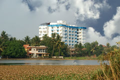 General view of the city, Cochin, India Royalty Free Stock Image