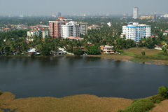 General view of the city, Cochin (kochi), Kerala Royalty Free Stock Photo