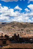 General view of the city of Cuzco, Peru Royalty Free Stock Photography
