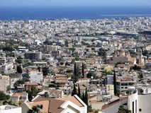 A general view of the city of Limassol, Cyprus Stock Photos