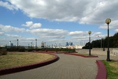 General view of the city of Moscow Royalty Free Stock Image