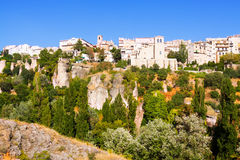 General view of Cuenca. Spain royalty free stock image