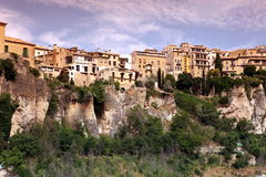 General view of Cuenca town in the morning. Castilla-La Mancha, Royalty Free Stock Photos