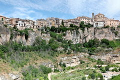 General view of Cuenca town in the morning. Castilla-La Mancha, Stock Images