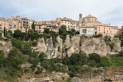 General view of Cuenca town in the morning. Castilla-La Mancha, Stock Photos