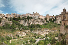 General view of Cuenca town in the morning Stock Photo