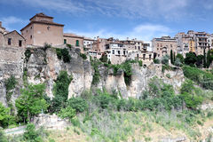 General view of Cuenca town in the morning Royalty Free Stock Photography