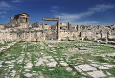 General view of Dougga Royalty Free Stock Image