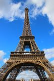 General view of Eiffel tower in Paris Royalty Free Stock Photo