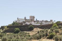 General view of Estremoz, Portugal, Europe Royalty Free Stock Photos