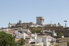 General view of Estremoz, Portugal, Europe Royalty Free Stock Image