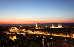 General view of Florence, Italy Stock Photo