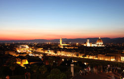 General view of Florence, Italy Stock Image