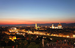 General view of Florence, Italy Stock Photography