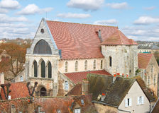 French city of Chartres Royalty Free Stock Photo