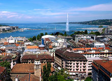General view of Geneva Stock Image