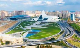 General view of Heydar Aliyev Center in Baku, Azerbaijan Stock Images