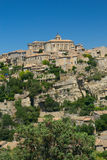 General view of hiltop village of Gordes. Stock Image