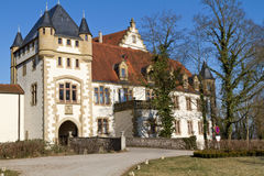 General view of the historic Goetzenburg castle Royalty Free Stock Photos
