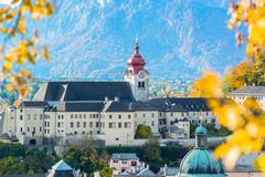General view of the historical center of Salzburg Stock Photo
