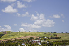 View of Martinique. A general view of the island of Martinique Royalty Free Stock Images