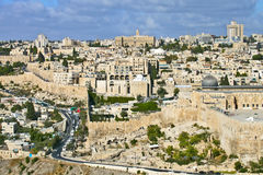 General view of Jerusalem Royalty Free Stock Photo