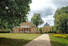 General view of the Lermontov estate Tarkhani Stock Photography