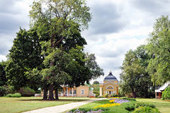 General view of the Lermontov estate Tarkhani Royalty Free Stock Photography