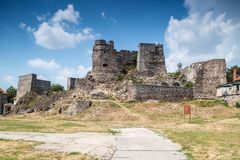 General view of Levice castle in Slovakia Royalty Free Stock Photos