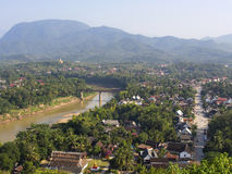 General View of Luang Prabang, Laos Stock Images