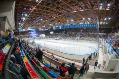 General view of the Luzhniki Ice Arena Stock Photos