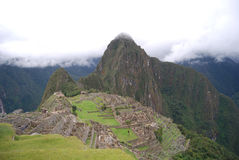 General view of Machu Picchu Peru Royalty Free Stock Photos