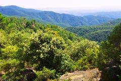 General view of Montseny. Catalonia Royalty Free Stock Photo