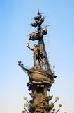 General view of the monument to Peter the Great Stock Images