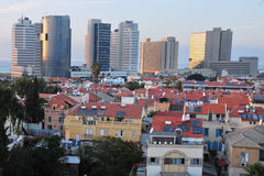 General view of Neve Tzedek Tel Aviv Stock Image