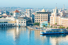 General view of Old Havana Royalty Free Stock Images