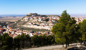 General view of  old spanish town Royalty Free Stock Photo